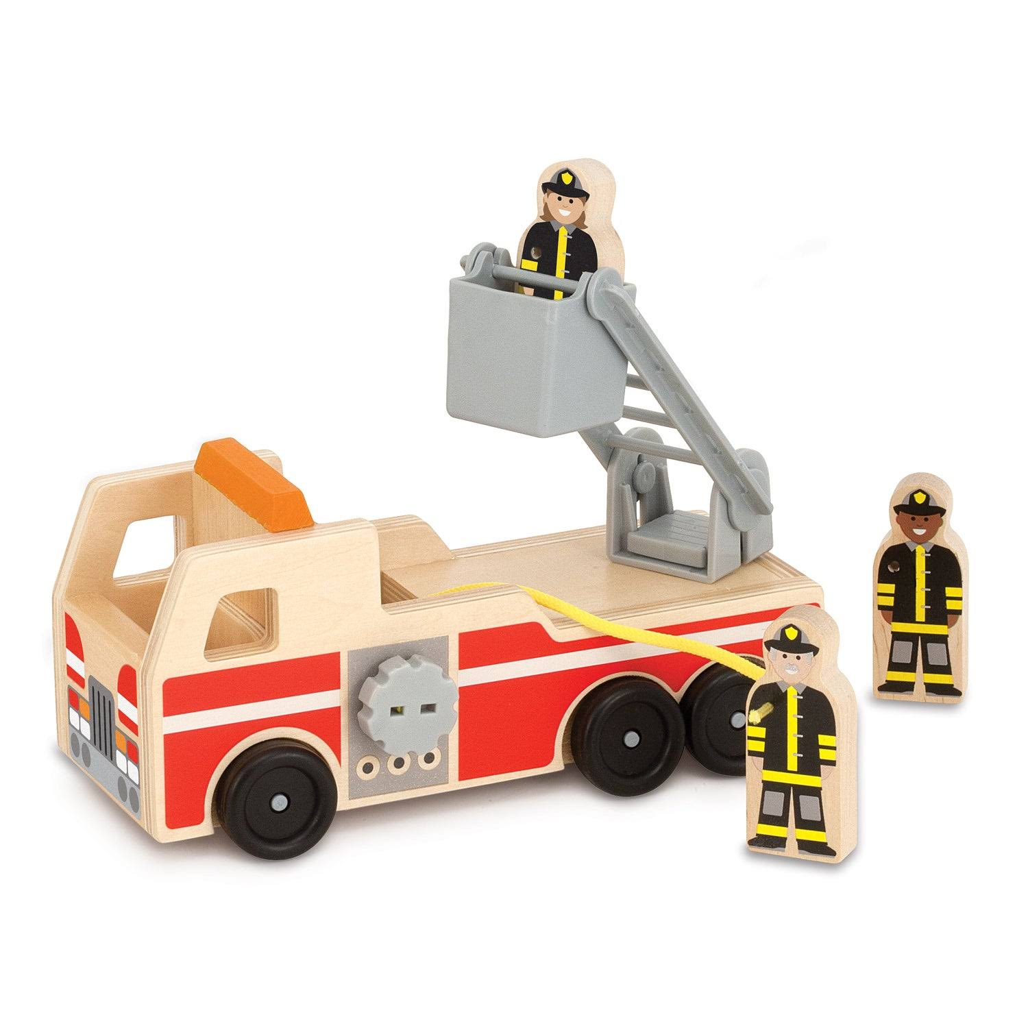 Melissa & Doug Fire Truck, Red