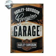 Vintage Home Decor MOTORCYCLES GARAGE Tin Signs Retro Me