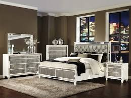 Bedroom Sets With Storage by Mirrored Bedroom Furniture Sets With Amazing Brown Stained Wall