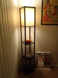 Mainstays Floor Lamp Assembly Instructions by Mainstays Shelf Floor Lamp With Shade Walmart Com