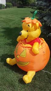 Disney Halloween Airblown Inflatables by Gemmy Airblown Inflatable Halloween Disney Winnie The Pooh In