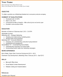 Resume Examples For College Download Graduate