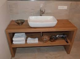 waschtisch platte fensterbank regal treppe eiche holz bad wc