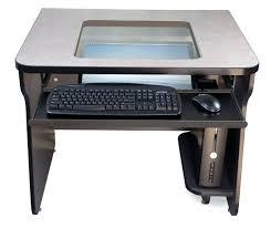 desk glass top computer desk staples glass top computer desk uk