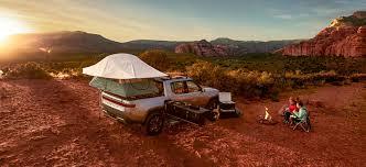 100 Pickup Truck Camper Rivian Releases Video Of Its Electric Pickup Truck Camper