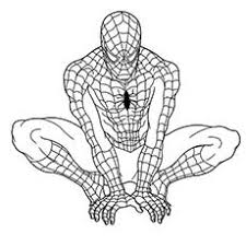 Professor X Superhero Spider Man Coloring Pages