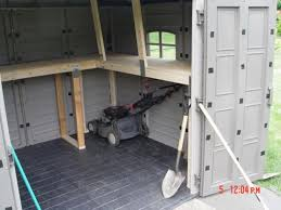 Keter Storage Shed Shelves by Wood Shed Vs Plastic Shed Page 2 Off Topic Ohio Riders