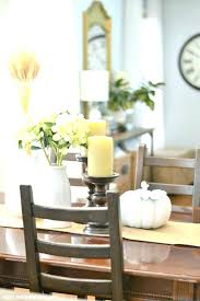 Candle Centerpieces For Dining Tables Table Decoration Ideas Home Centerpiece