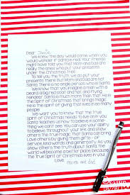 A Letter to Kids Santa is Real
