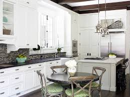 Shabby Chic Kitchen With French Flavor And Industrial Overtones Design Brian Watford