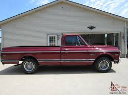 1970 Chevy CST C10 Long Bed Pick-up Fire Mist Red