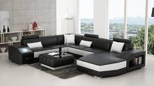 ledersofa u form wohnlandschaft ecksofa garnitur design modern sofa