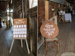 Willow And Ink Wooden Wedding Seating Chart Reception Custom Sign Barn