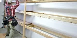 Wood Building Shelves by Diy Garage Storage Favorite Plansbuilding Shelving With Wood