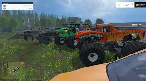 100 Monster Truck Simulator MONSTER TRUCK FANS V10 Farming Simulator 19 17 15 Mods FS19