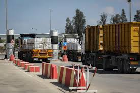 100 Take Over Payments Truck Hamas Takes Over Gaza Cargo Terminal As PA Forces Decamp The Times