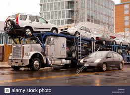 Auto Transport Truck - USA Stock Photo: 52676478 - Alamy