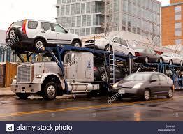 Auto Transport Truck - USA Stock Photo: 52676478 - Alamy