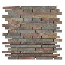 Jeffrey Court Mosaic Tile by Jeffrey Court U2013 Showroom U0026 Designer Collectioncopper Mine Slate