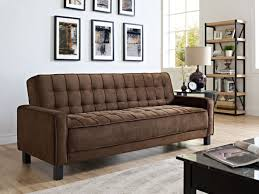 Serta Dream Convertible Sofa By Lifestyle Solutions by Convertible Mckinley Brown Sofa Bed Mckinley Brown Euro Lounger
