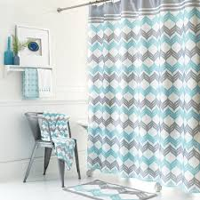 Living Room Curtains Kohls by Mondrian Chevron Shower Curtain Collection