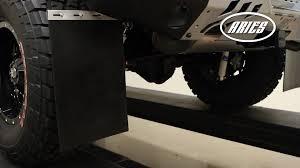 ARIES Universal Mud Flap Installation: 12