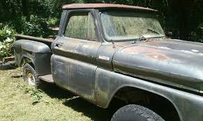 100 1965 Chevy Stepside Truck Chevrolet K10 Swb Factory 4x4 Project Needs