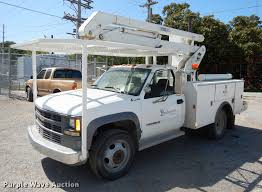 100 Bucket Trucks For Sale In Pa 1995 Chevrolet Cheyenne 3500 Bucket Truck Item DD0850 SO
