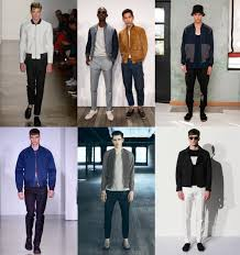 Bomber Jackets Mens Fashion New York Week Spring 2014