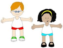 Body Parts Clip Art For Kids Clothes Clipart