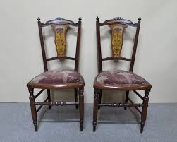 Pair Of Art Nouveau Occasional Chairs - Nostalgia Antiques Set Of 8 Vintage Midcentury Art Nouveau Style Boho Chic Italian Stunning Of Six Inlaid Mahogany High Back Chairs 2 Pair In Antiques Atlas Lhcy Solid Wood Ding Chair Armchair Lounge Nordic Style A Oak Set With Table Seven Chairs And A Side Ding Suite Extension Table France Side In Leather Chairish Gauthierpoinsignon French By Gauthier Louis Majorelle Caned An Edouard Diot Art Nouveau Walnut And Brass Ding Table Four 1930s American Classical Shieldback 4