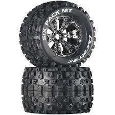 100 Truck Tired Amazoncom Duratrax Six Pack MT 38 RC Monster Tires With