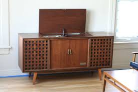 Record Player Stand Turntable Furniture Cabinets Consoles