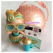 LOL Surprise Luxe 24k Gold Ultra Rare Series 2 Lil Outrageous Little Doll Sister