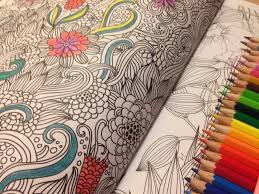 Adult Coloring Books Cafe Crayons
