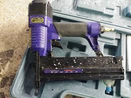 Central Pneumatic Floor Nailer Troubleshooting by Central Pneumatic 18 Gauge 40116 Air Nailer Stapler Case Manual Ebay