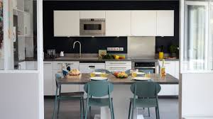cuisine gris ardoise cuisine moderne couleur aubergine
