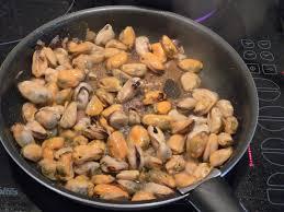 cuisine moule façon marinière aux pâtes