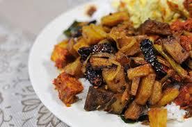 cuisine n駱alaise cuisine malaise de pomme de terre photo stock image du potato
