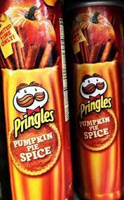 Pumpkin Spice Pringles 2017 by Scary Spice 10 Odd Autumn Pumpkin Spice Foods U0026 Snacks Page 3