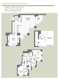 100 Tokyo Penthouses Azabu Gardens 4 Bedroom Penthouse Duplex Apartments