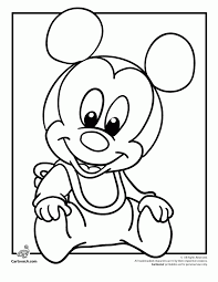 Picture Coloring Disney Babies Pages To Print On
