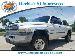 Used 2001 Dodge Ram 1500 SLT 4X4 Truck For Sale Okeechobee FL - 1G206335