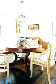 Banquette Seating Plans Bench With Storage Dining Room