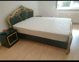 schlafzimmer komplett set bett schrank barock kommode