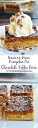 Libbys 100 Pure Pumpkin Pie Recipe by Gluten Free Pumpkin Pie Toffee Bars Breezy Bakes