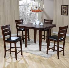 Value City Furniture Kitchen Table Chairs by Primo International 4540 Drop Leaf Gathering Height Table With