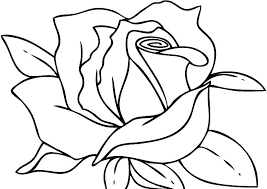 Heart And Rose Coloring Pages Of Hearts Color