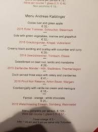 prix fixe march 2018 picture of restaurant esszimmer