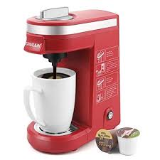 CHULUX Single Cup Coffee Maker Travel BrewerRed